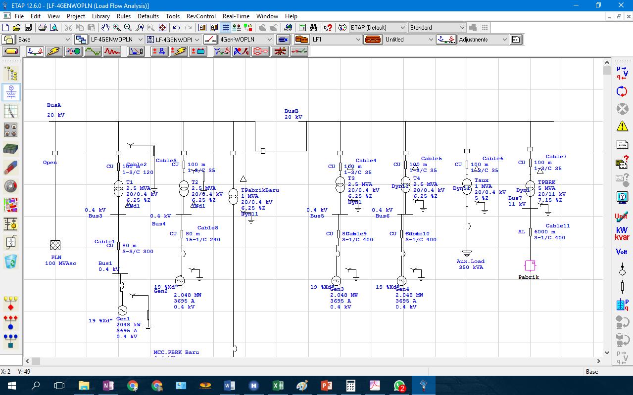 Kursus electrical power analysis rekayasa perangkat for Motor circuit analysis training